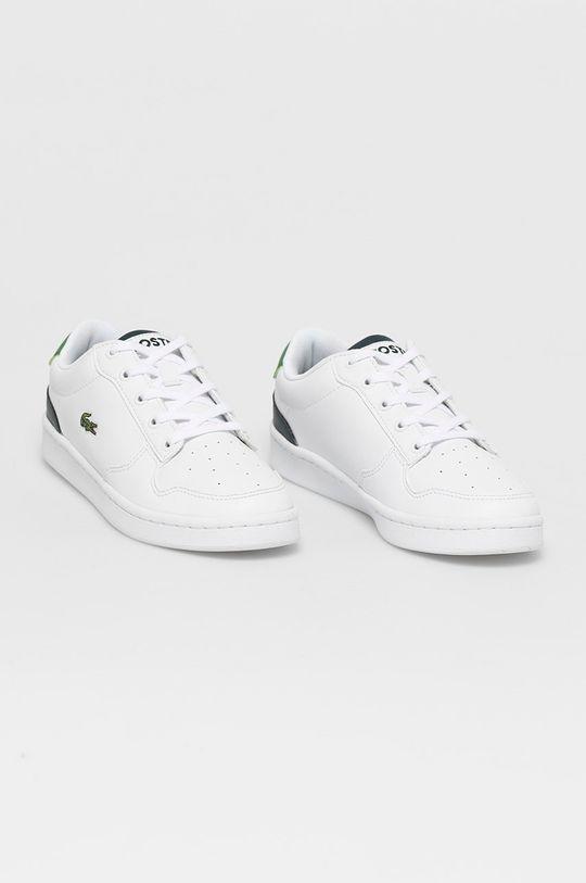 Lacoste - Pantofi copii alb