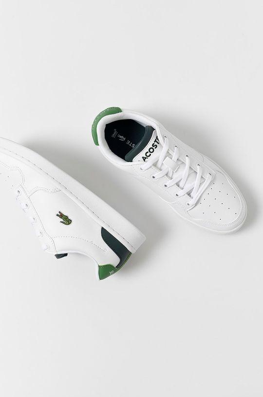 alb Lacoste - Pantofi copii