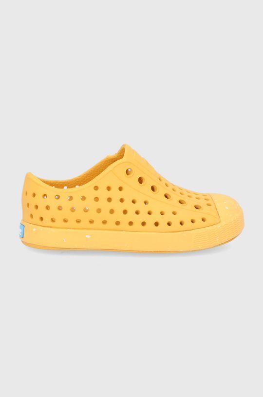 žlutá Native - Dětské tenisky Jefferson Dětský