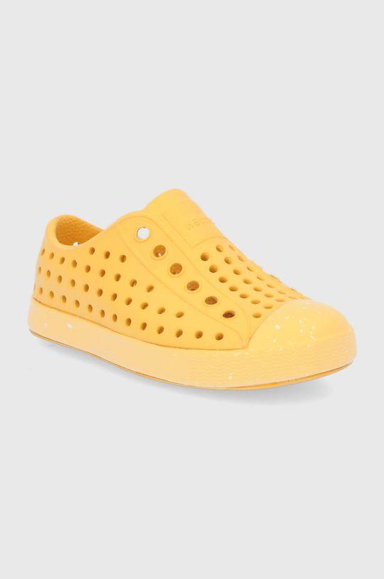 Native - Dětské tenisky Jefferson žlutá