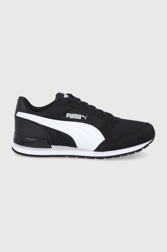 čierna Puma - Detské topánky ST Runner v2 Mesh Detský