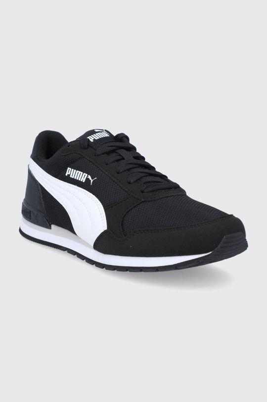 Puma - Detské topánky ST Runner v2 Mesh čierna