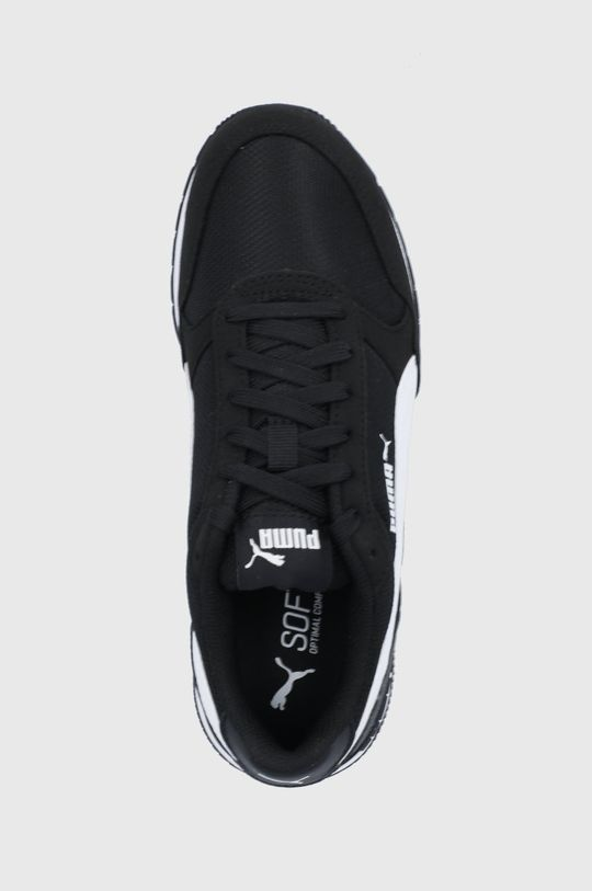 čierna Puma - Detské topánky ST Runner v2 Mesh