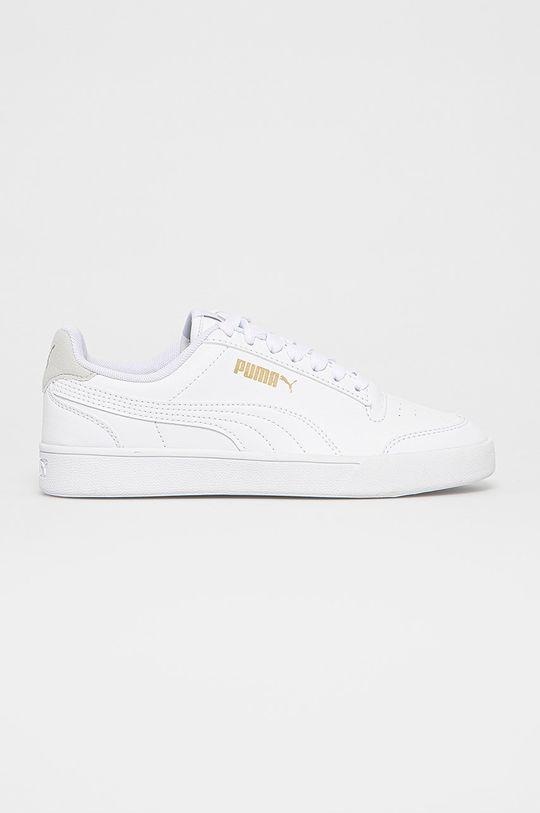 biały Puma - Buty dziecięce Shuffle Jr Dziecięcy
