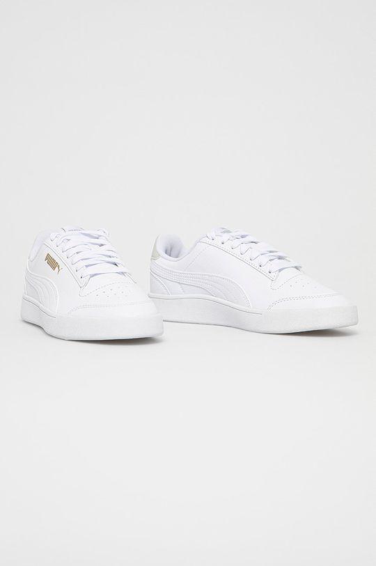 Puma - Buty dziecięce Shuffle Jr biały