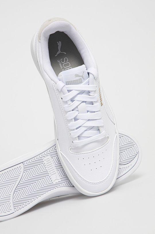 biały Puma - Buty dziecięce Shuffle Jr