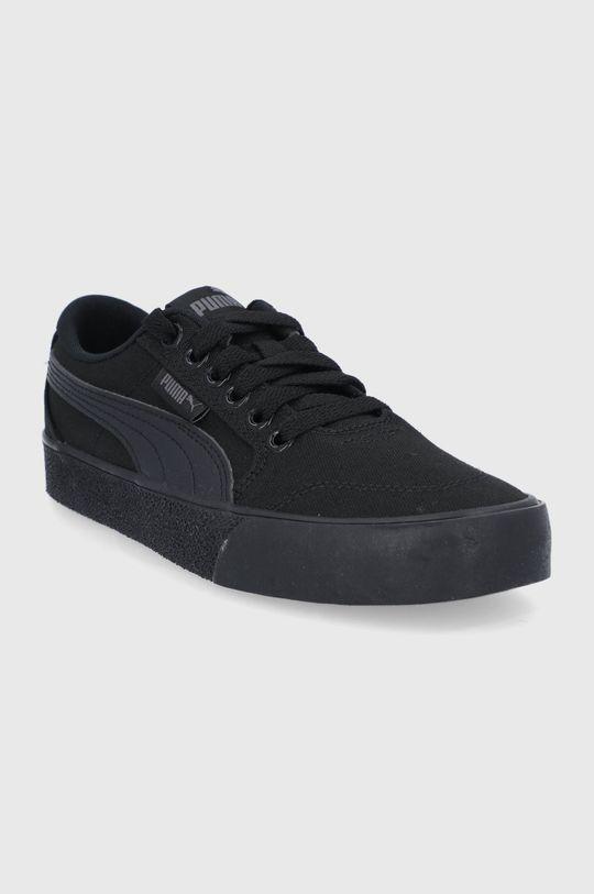 Puma - Tenisówki dziecięce C-Skate Vulc czarny