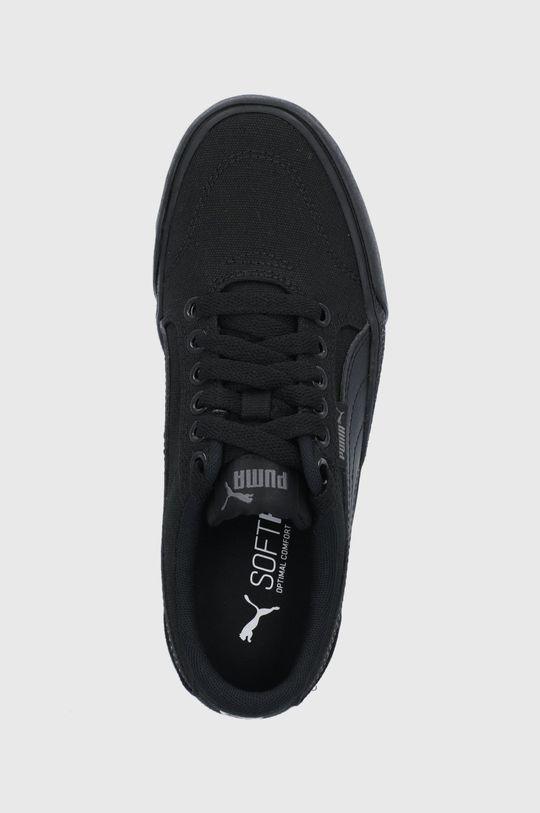czarny Puma - Tenisówki dziecięce C-Skate Vulc
