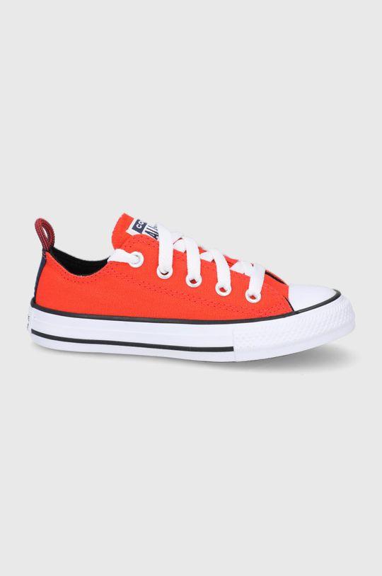 oranžová Converse - Dětské tenisky Dětský