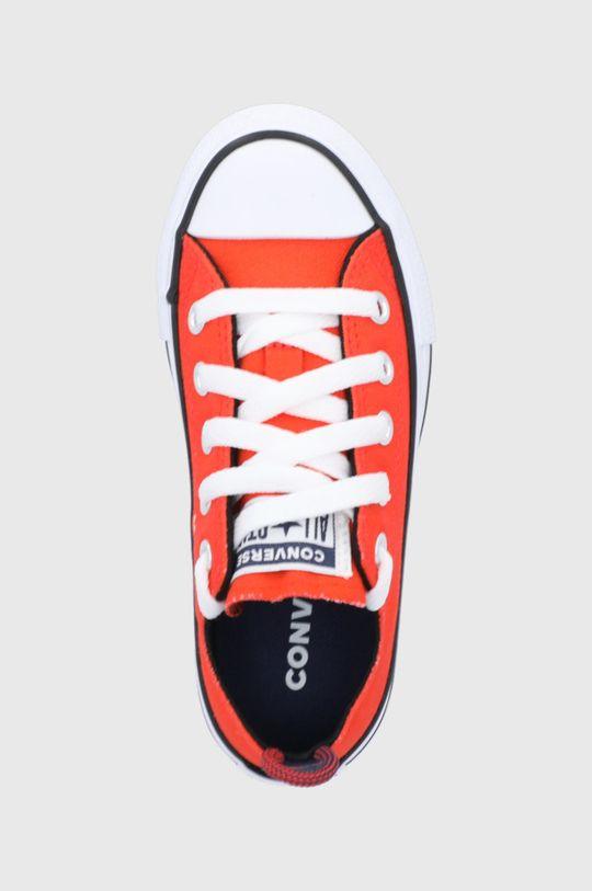 oranžová Converse - Dětské tenisky