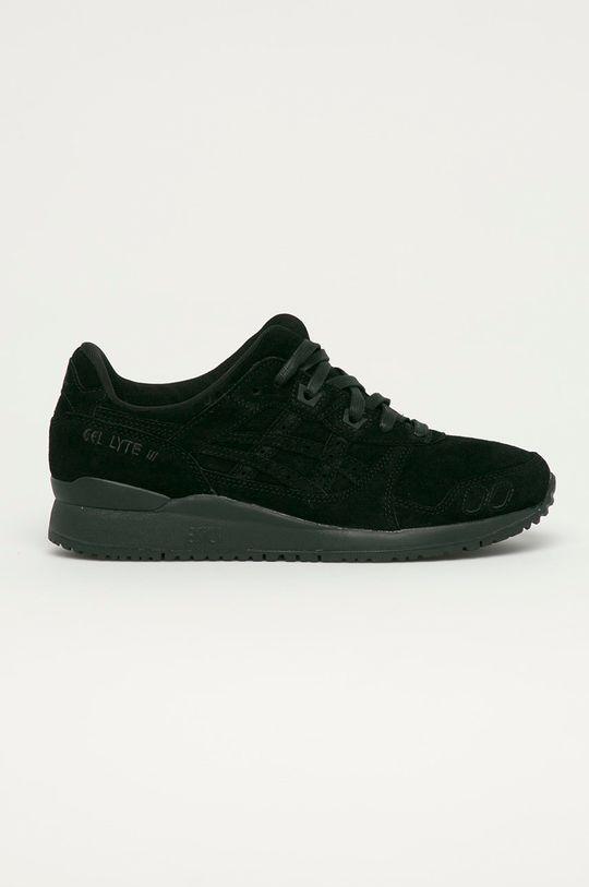 čierna Asics - Semišové topánky Gel-Lyte III Pánsky