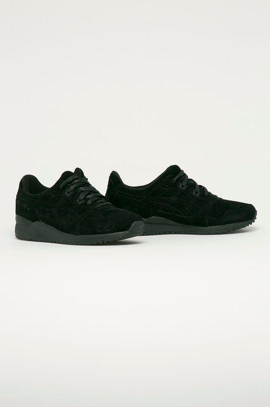 Asics - Pantofi de piele intoarsa Gel-Lyte III negru