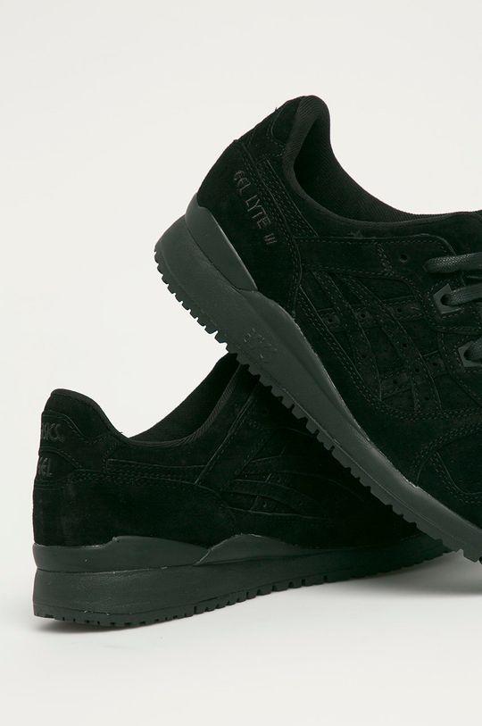 Asics - Semišové topánky Gel-Lyte III  Zvršok: Semišová koža Vnútro: Textil Podrážka: Syntetická látka