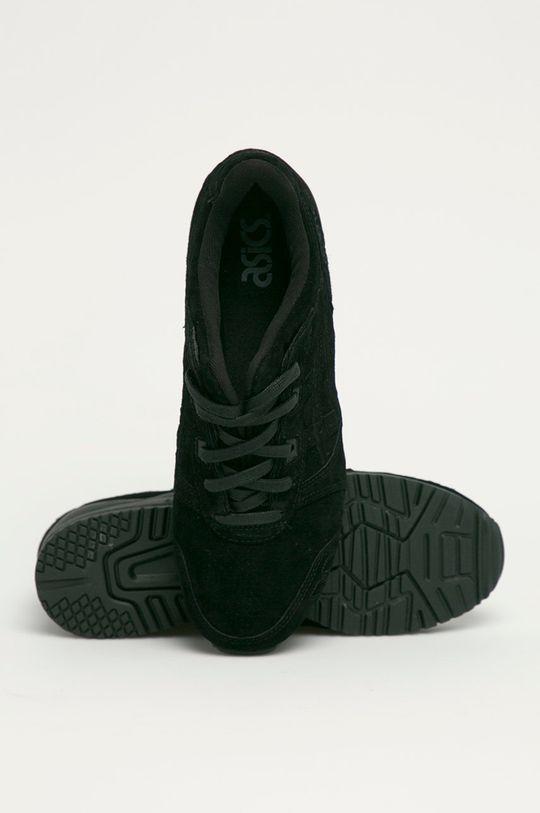 čierna Asics - Semišové topánky Gel-Lyte III