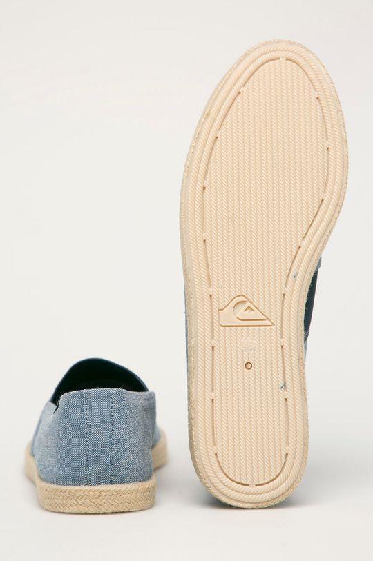 Quiksilver - Espadrilky  Svršek: Textilní materiál Vnitřek: Textilní materiál Podrážka: Umělá hmota