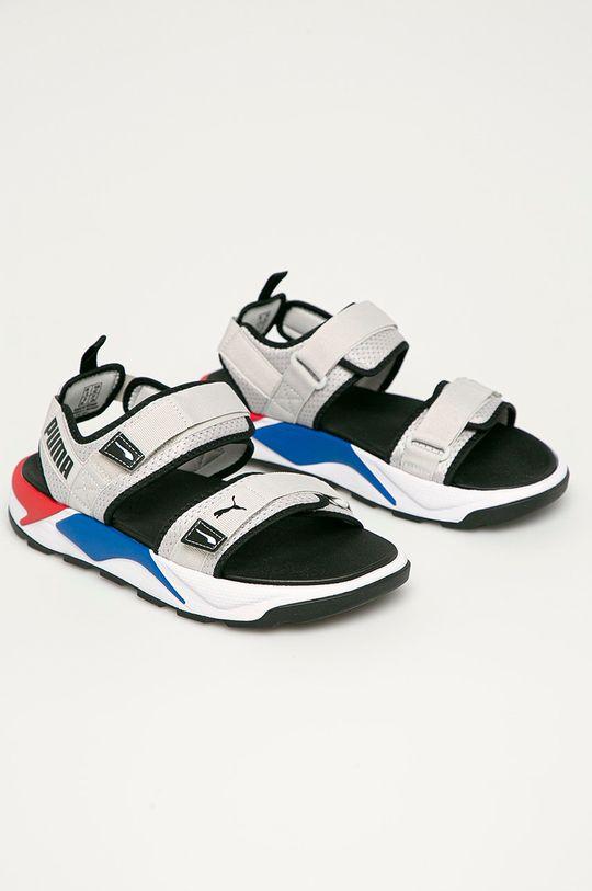 Puma - Sandále RS-Sandal svetlosivá