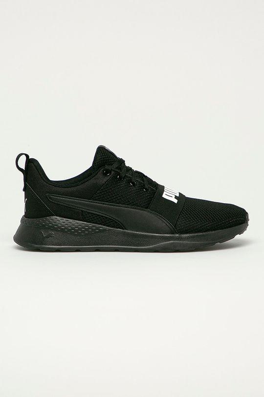 čierna Puma - Topánky Anzarun Pánsky