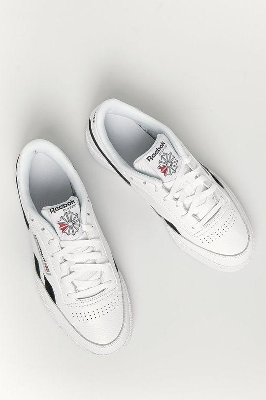 biela Reebok Classic - Kožená obuv Club C Revenge Mu