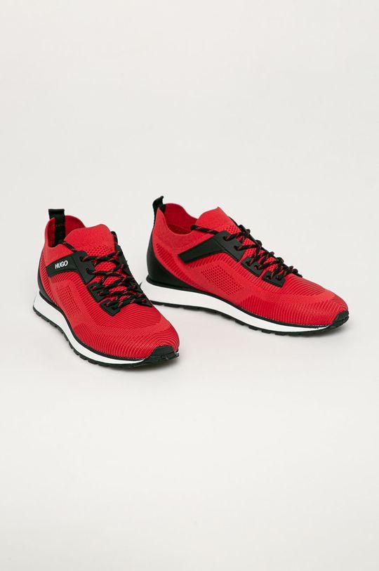 Hugo - Boty červená