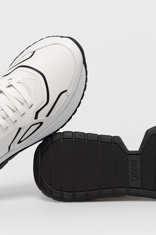 biały Hugo - Buty skórzane