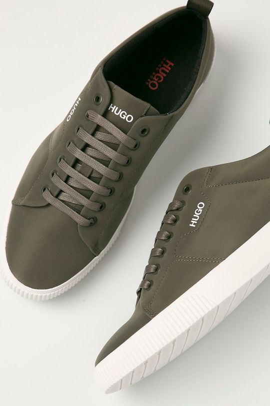vojenská zelená Hugo - Topánky