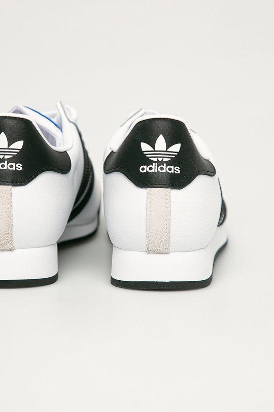 adidas Originals - Buty skórzane Samoa Cholewka: Skóra naturalna, Wnętrze: Materiał tekstylny, Podeszwa: Materiał syntetyczny