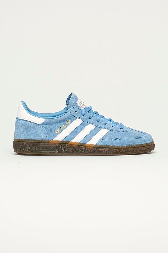 svetlomodrá adidas Originals - Topánky Handball Spezial Pánsky