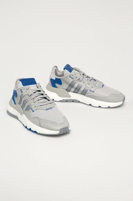 adidas Originals - Topánky Nite Jogfer sivá