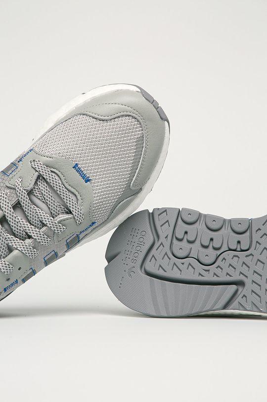 sivá adidas Originals - Topánky Nite Jogfer