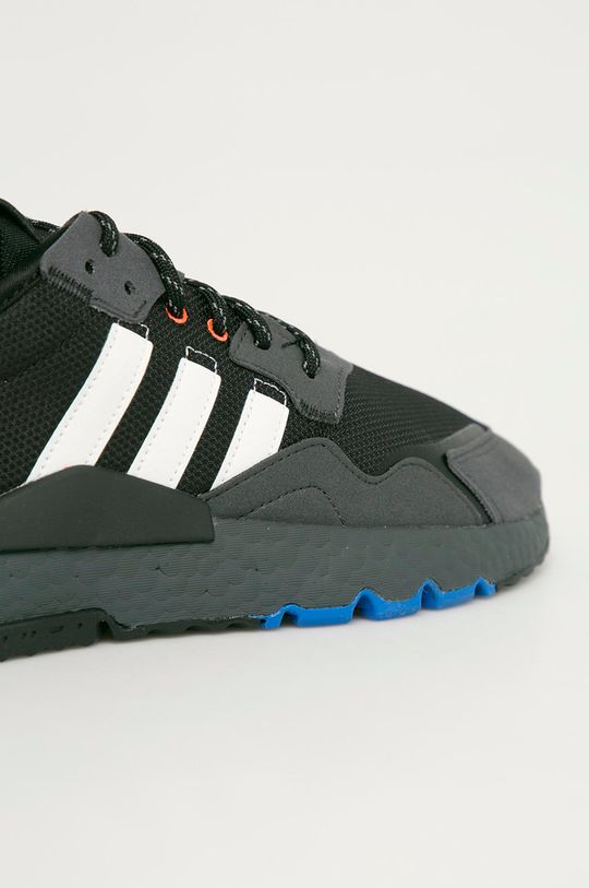 čierna adidas Originals - Topánky Nite Jogger