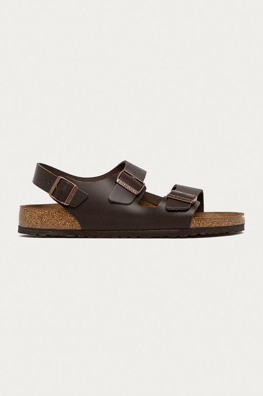 hnedá Birkenstock - Sandále Milano Pánsky