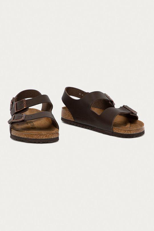 Birkenstock - Sandále Milano hnedá