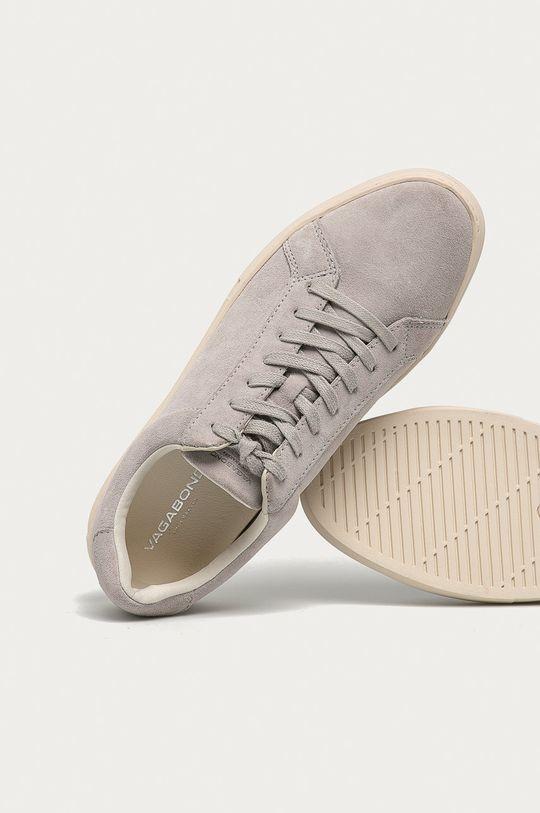 šedá Vagabond - Semišové boty Paul