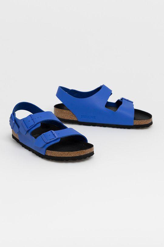 Birkenstock - Sandały Milano niebieski