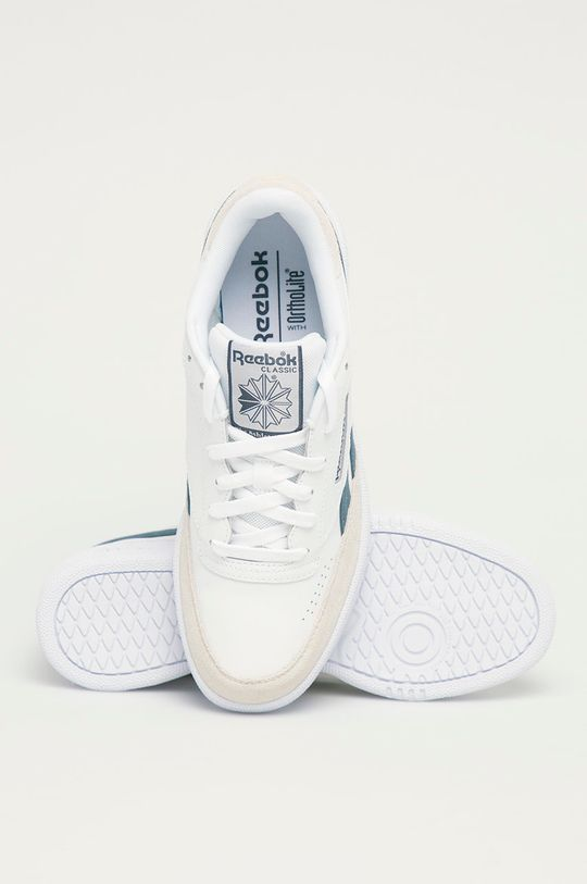 alb Reebok Classic - Pantofi Club C