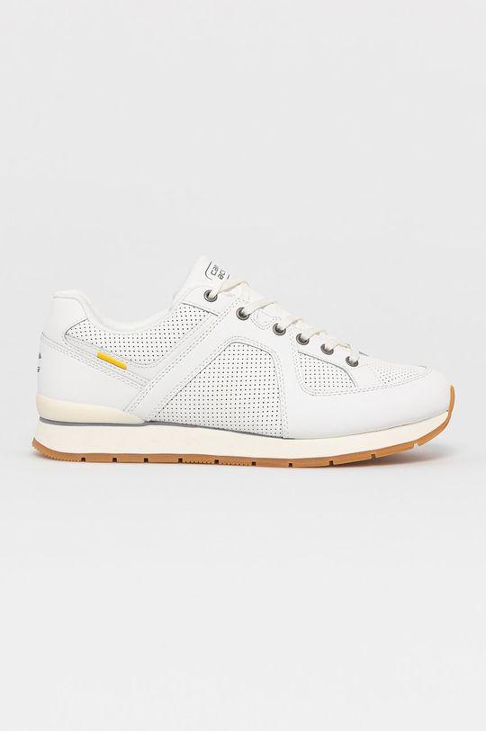 biela Camel Active - Kožená obuv Pánsky