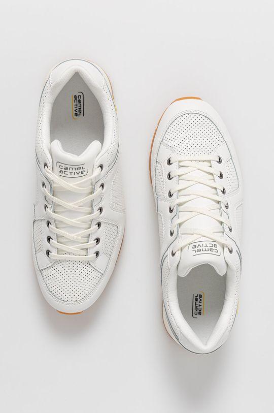 biela Camel Active - Kožená obuv