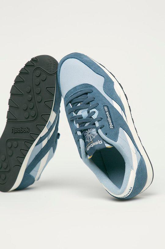 modrá Reebok Classic - Topánky CL Nylon