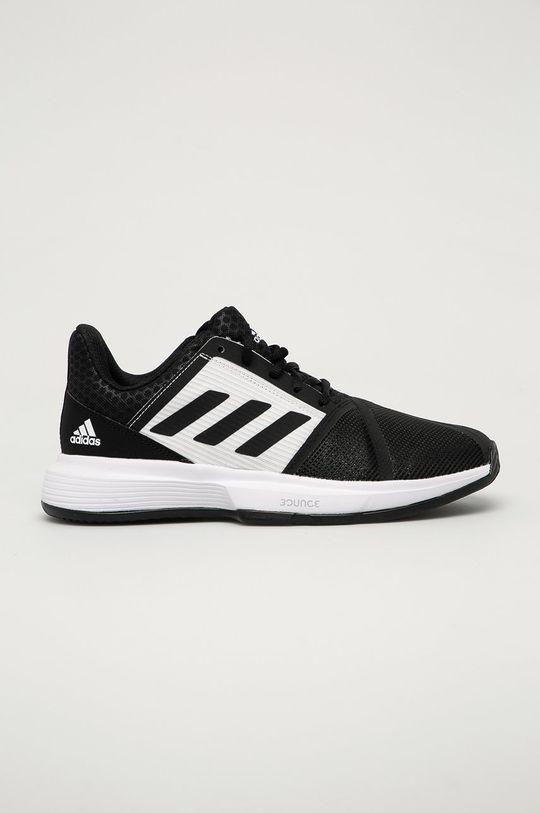 čierna adidas Performance - Topánky CourtJam Bounce Clay Tennis Pánsky