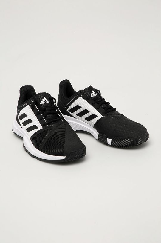 adidas Performance - Buty CourtJam Bounce Clay Tennis czarny