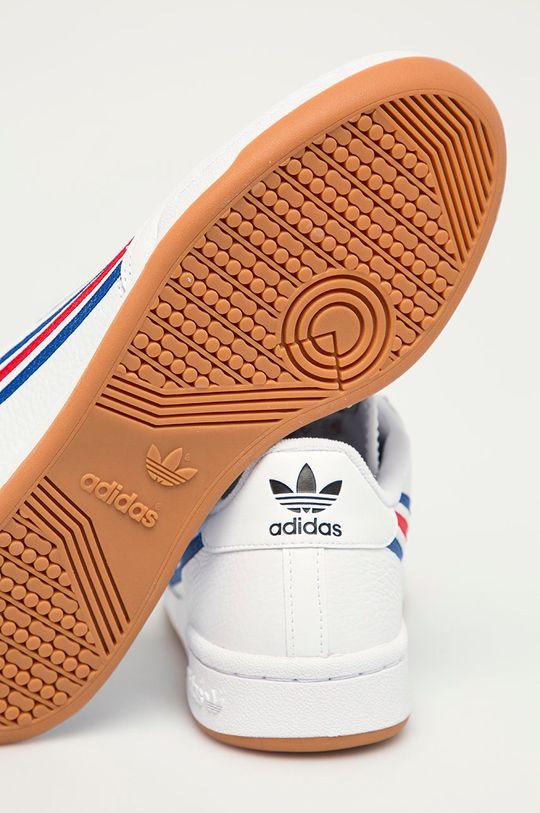 adidas Originals - Buty skórzane Continental 80 Cholewka: Skóra naturalna, Wnętrze: Materiał tekstylny, Podeszwa: Materiał syntetyczny