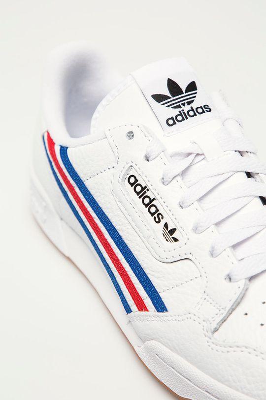 biały adidas Originals - Buty skórzane Continental 80