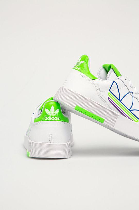 adidas Originals - Kožená obuv SUPERCOURT  Zvršok: Prírodná koža Vnútro: Textil Podrážka: Syntetická látka