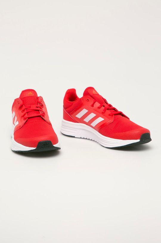 adidas - Boty Galaxy 5 červená