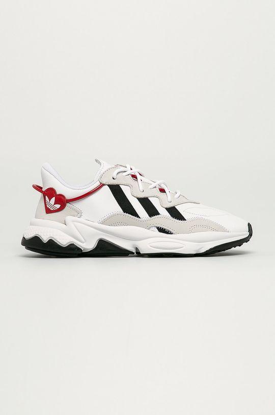 bílá adidas Originals - Kožené boty Ozweego Pánský