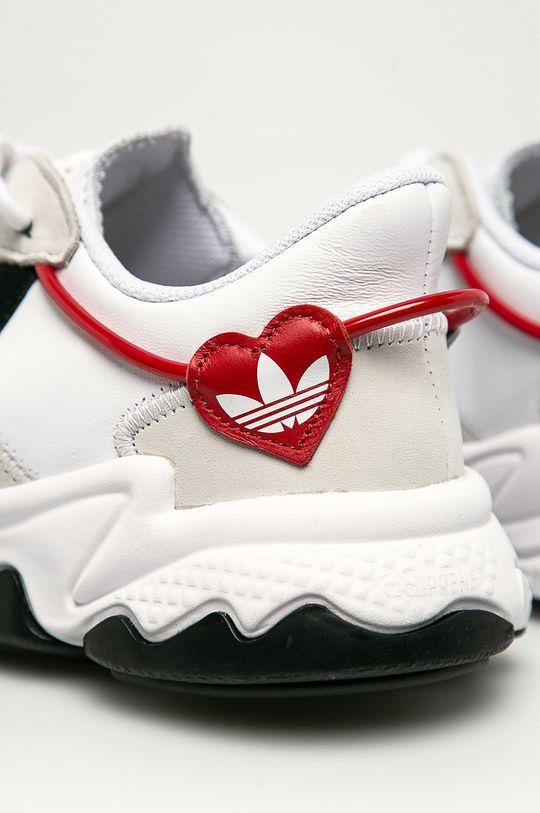 adidas Originals - Kožené boty Ozweego  Svršek: Přírodní kůže Vnitřek: Textilní materiál Podrážka: Umělá hmota