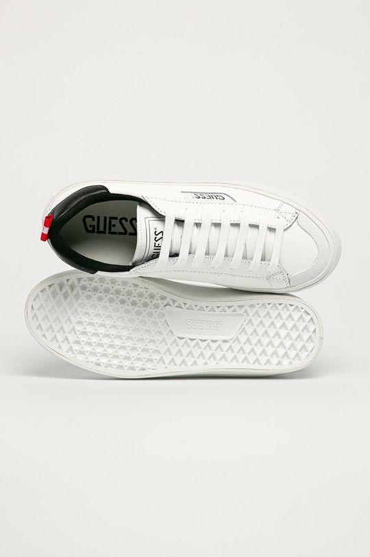 alb Guess - Pantofi