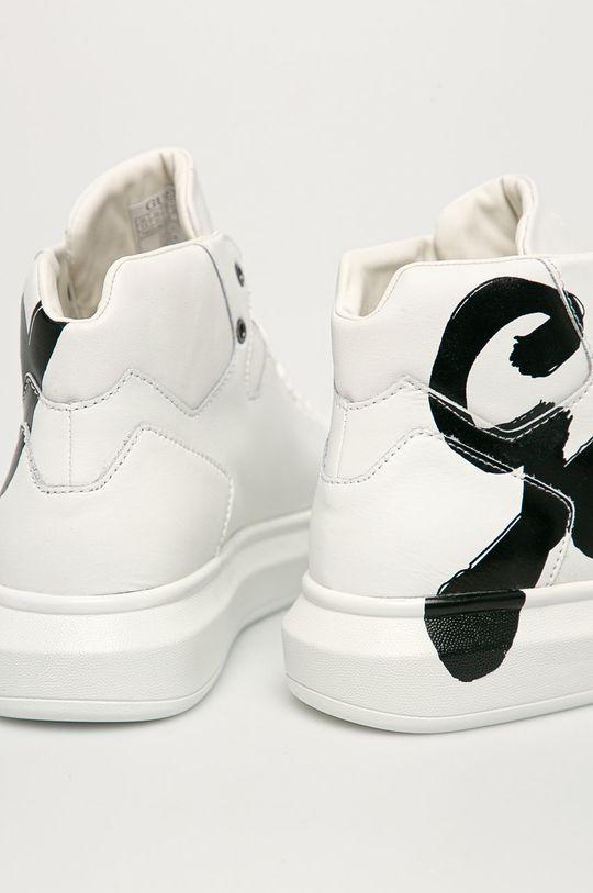 Guess - Pantofi  Gamba: Material sintetic, Piele naturala Interiorul: Material sintetic, Material textil Talpa: Material sintetic