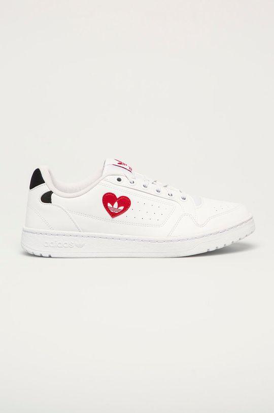 bílá adidas Originals - Kožené boty NY 90 Pánský