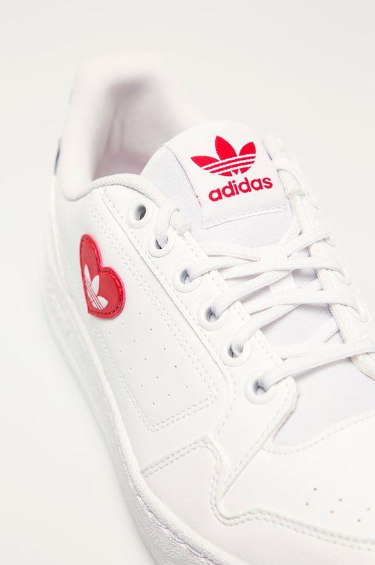 bílá adidas Originals - Kožené boty NY 90